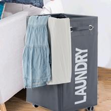 drawstring laundry hamper