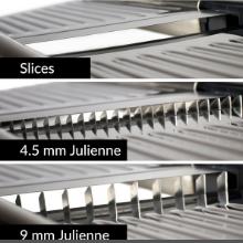 adjustable stainless steel mandoline food slicer