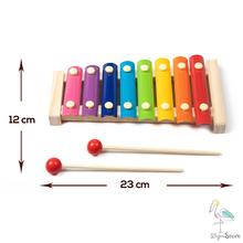 Xilofono Bambini tavolo maschio libreria magnetica neonati cestino dei tesori cesto mia casetta