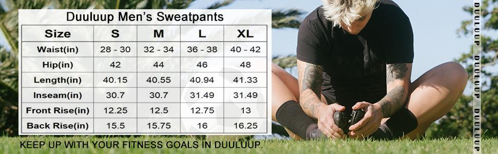 sweatpants for men