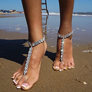 Occasion for the cute Barefoot Sandals