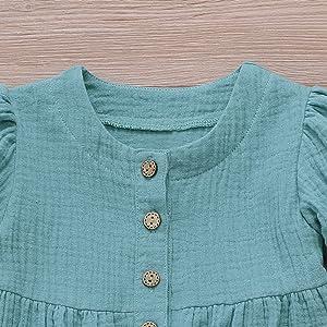 Toddler Girl Short Sleeve Summer Dress