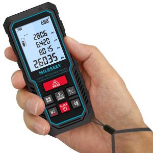 MILESEEY laser tape measure