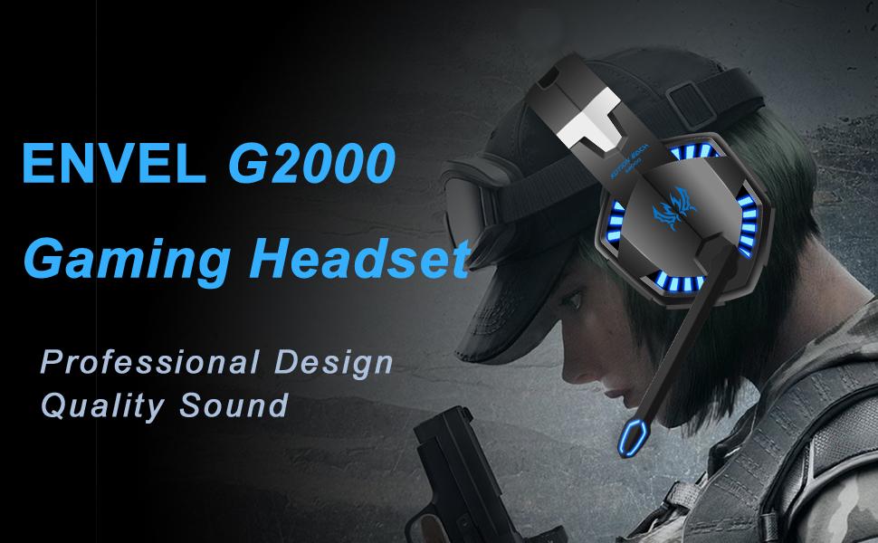 envel G2000 gaming headset
