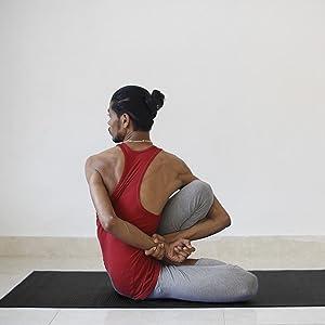 Sportastisch Top¹ Colchoneta de yoga Happy Yoga (60x183cm ...