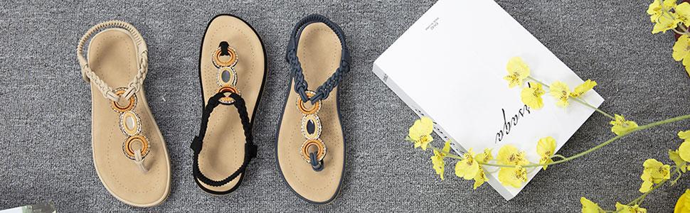 women shoes women sandals summer sandals beach sandals flats shoes flats sandals comfortable sandals