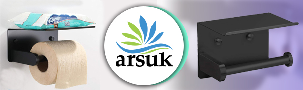 ARSUK is een gerenommeerd merk voor toiletrolhouders