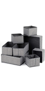 8 Pack Foldable Cloth Storage Box