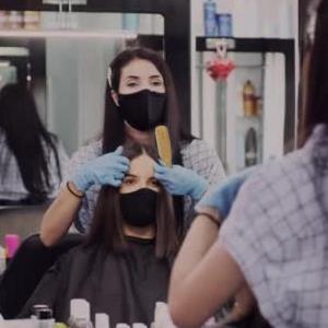 salon hair style
