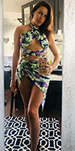 3 Pieces Swimsuit Cover Up