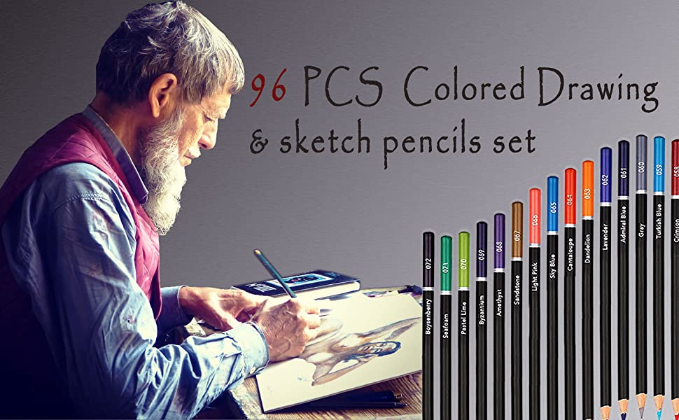Drawing and Sketching Pencils Sets