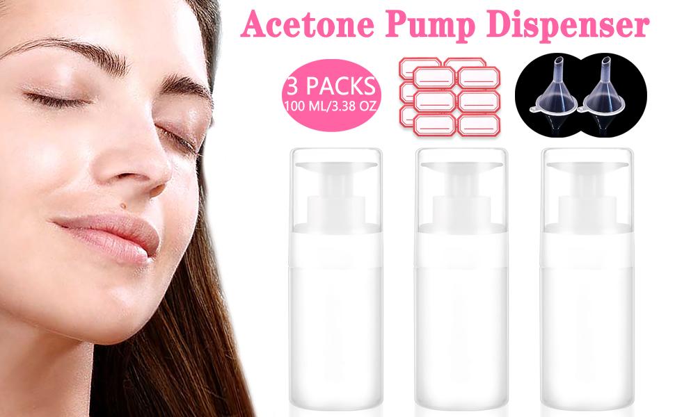 acetone pump dispenser