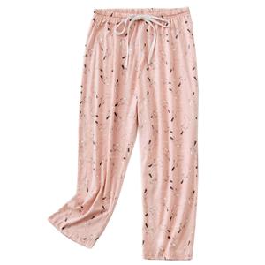 women pink pajama pants