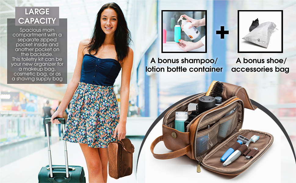 pouch bag tsa toiletry bag small gym bag gift ideas for men luggage organizer shower hanging makeup