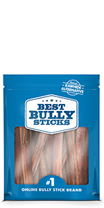 6 six inch thick best bully sticks dental health protein single ingredient natural organic healthy