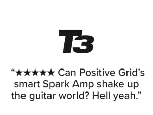 T3.com Can Positive Grid's smart Spark Amp shake up the guitar world? Hell yeah