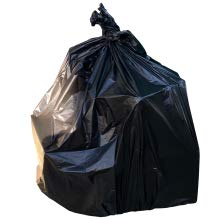 95 gallon trash bags, High Density 95 Gallon Heavy Duty Black, Can Liners 68 count Bulk