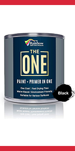 The ONE Paint Paint and Primer: Water Based House Paint with Primer Wall, Ceiling, Bathroom, Kitchen