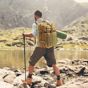 Roaring Fire 45L tactical pack for hiking