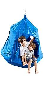 Kids hanging tree tent