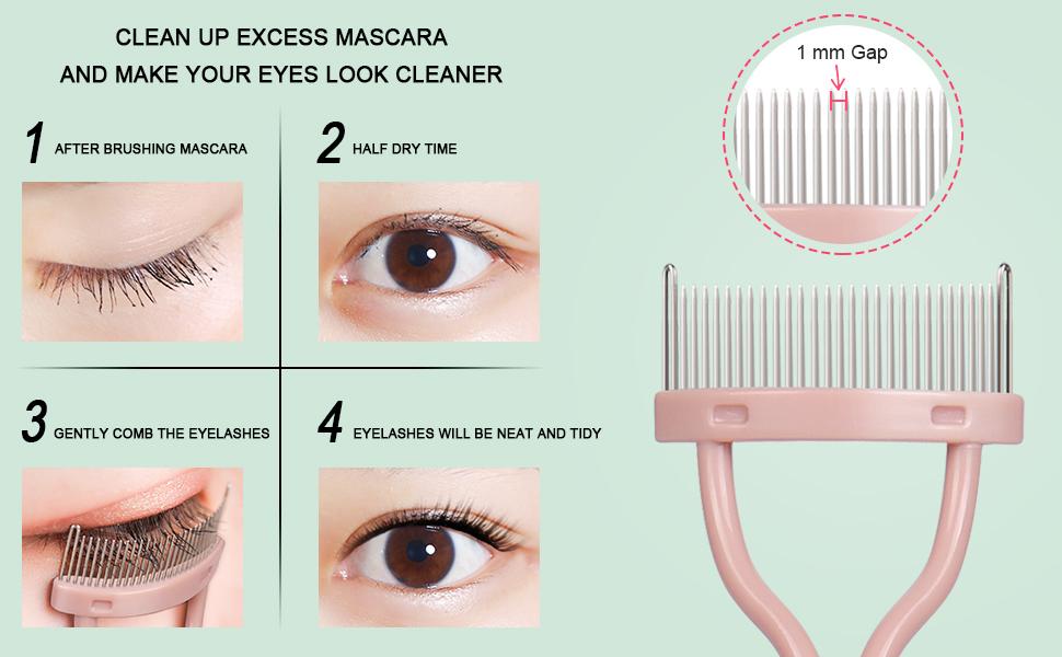 lashes comb