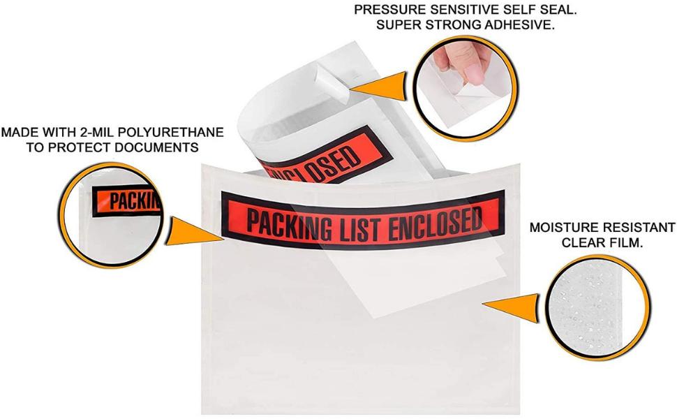 Shipping Label Envelopes