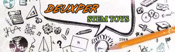 DEUXPER logo steam toys