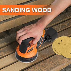 5 sanding discs hook and loop