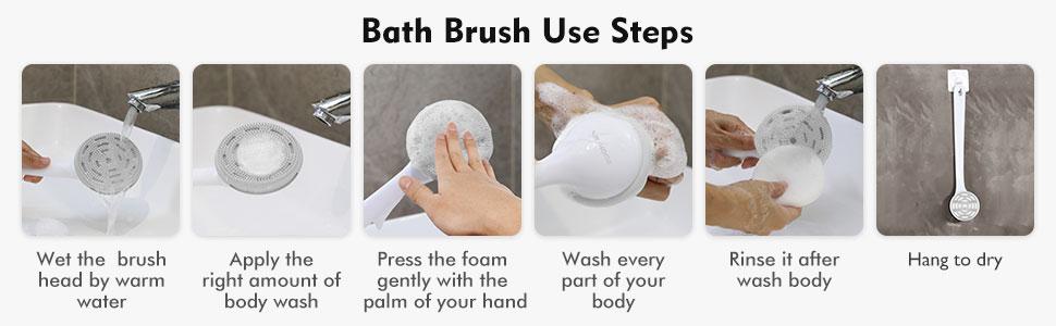 Slicone Bath Body Brush