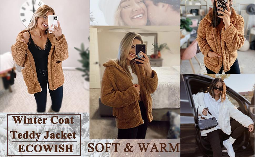teddy jacket winte coat