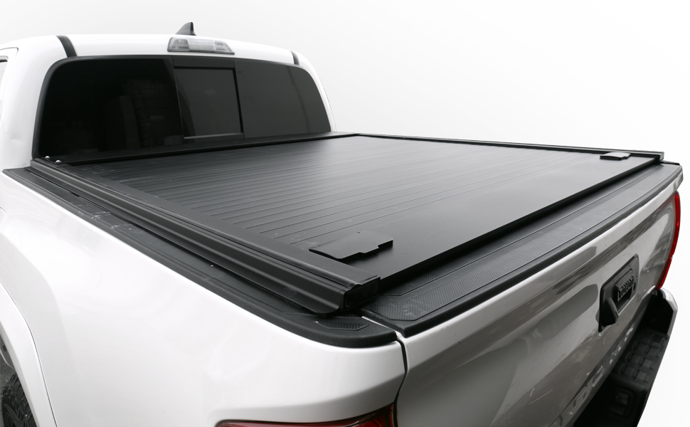 Amazon Com Syneticusa Aluminum Retractable Low Profile Waterproof Tonneau Cover For 2004 2021 F 150 F150 5 5 5 6 Short Truck Bed Automotive