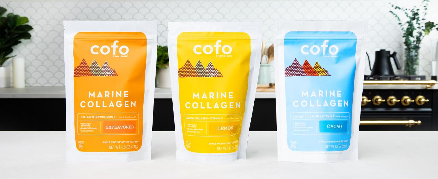 Marine Collagen, Fish Collagen, Paleo, Keto, Whole30, Cofo Provisions