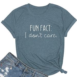 fun face shirt for women