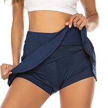 women's sports skirts athletic skorts