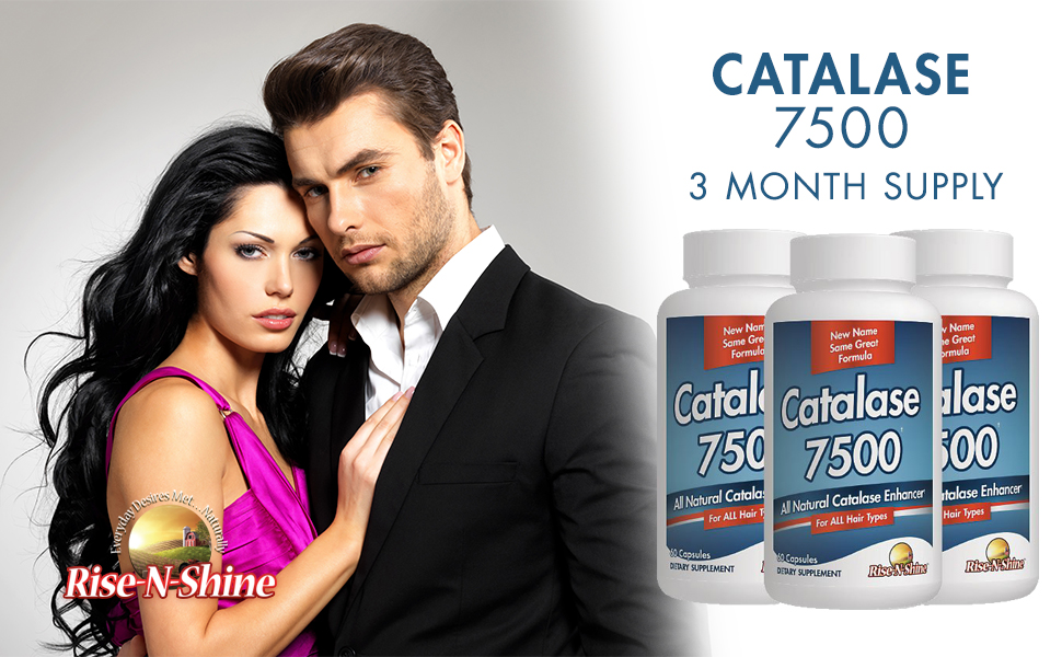 Rise N Shine Catalase 7500 Supplement 3 Month Supply