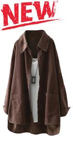 women's corduroy shirt jacket
