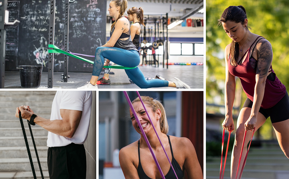 chin up resistance bands