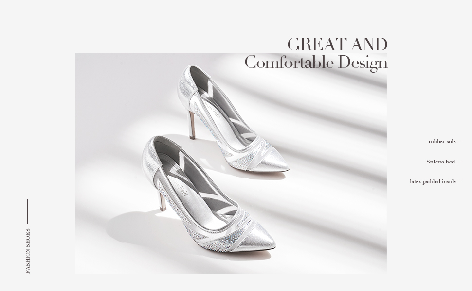 Details about  /Women Fashion Round Toe Color Matching Diamante Flowers Pumps High Heels Fgg05
