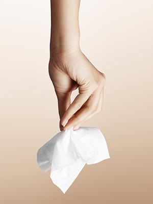 Feminine hygiene wipes