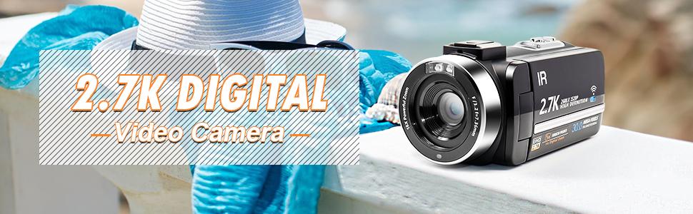 2.7k digital video camera