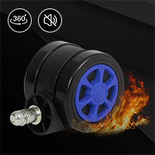 Nylon Smooth-Rolling Casters