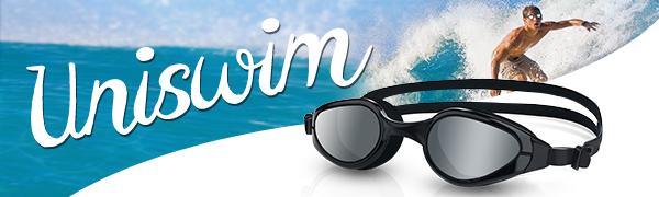 Uniswim goggles