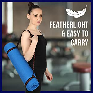 Featherlight & Easy to Carry
