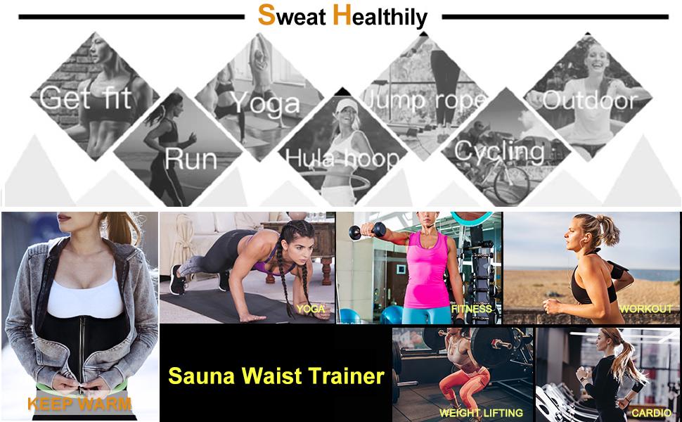 sweat shaper for women