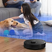 robot vacuum and mop