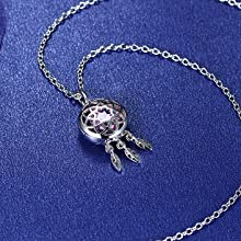 dream-catcher necklace