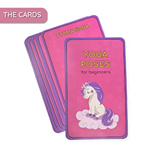 yoga cards for kids card for kid birthday girl girls toddler yogi learn learning teach teaching