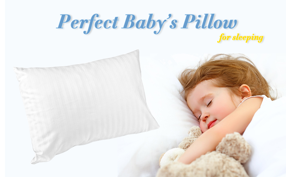 ZPECC Toddler Pillow with Pillowcase