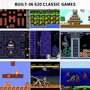 Classic Mini Retro Game Console