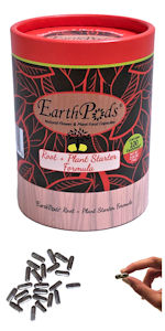 EarthPods New Planting Transplant Seedling Organic Plant Food Fertilizer Spikes